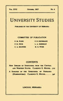 Papers from the University Studies series (The University of Nebraska)