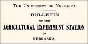University of Nebraska Historical Extension Bulletins