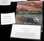 American Society of Agronomy: 100 Years of History