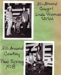 1973 All-Around Cowgirl Linda Vroman, All-Around Cowboy Paul Tierney