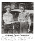 All-Around Cowgirl Congratulated (1955)
