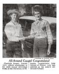 All-Around Cowgirl Congratulated (1955)