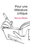 Pour une littérature critique